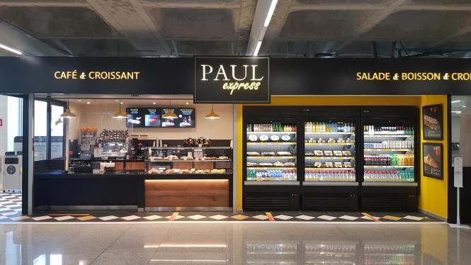 """""""PAUL express"""" heißt die neue Verpflegungsstation."""