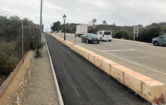 Neben 19 neuen Fahrradrouten wird in der Gemeinde Santanyì derzeit der letzte Abschnitt des fünf Kilometer langen Radweges zwischen Calonge und Cala Ferrera fertiggestellt.