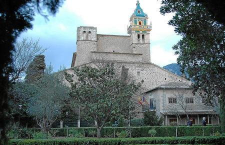 Das Klostergebäude befindet sich in Valldemossa.