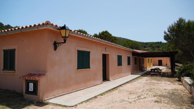 In der Wander- und Schutzhütte auf Cabrera können bald wieder Gäste empfangen werden.