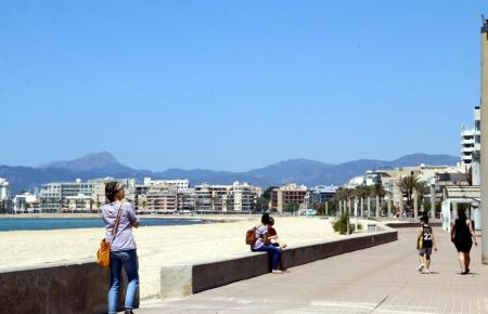 In der Nähe dieses Strandabschnitts trug sich der Vorgang zu.