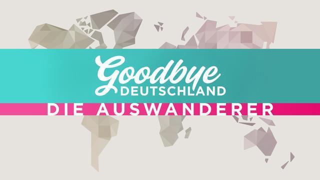 """Das Logo des Formats """"Goodbye Deutschland""""."""