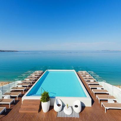 Das HM Gran Fiesta hat einen Infinity-Pool und befindet sich an der Playa de Palma.