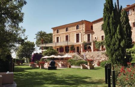 Das Hotel La Residència in Deià.