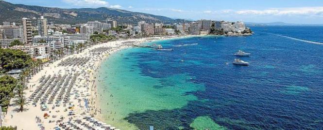 Der Vorfall ereignete sich in der britischen Touristen-Hochburg Magaluf im Südwesten von Mallorca.