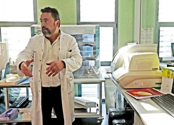 Antonio Oliver, Chef-Mikrobiologe im Inselkrankenhaus Son Espases.