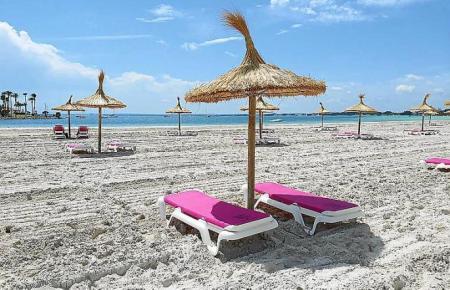 Blick auf den Strand von Alcúdia.