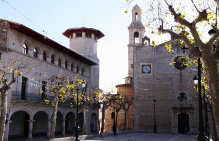 Das Zentrum des beschaulichen Ortes Alaró.
