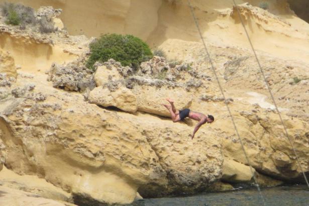 Der Fußballer genießt seine Auszeit auf Mallorca.