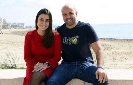 Maria Donaire und Fernando Llabrés leben an der Playa de Palma