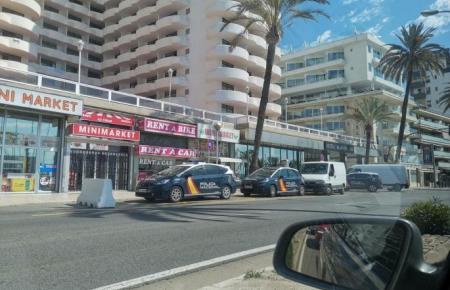 Blick auf das Bellver-Hotel in Palma.