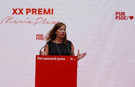 Ministerpräsidentin Francina Armengol.