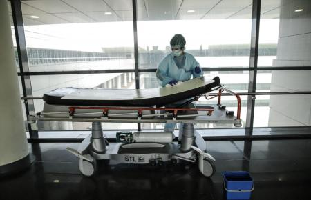 Coronakraft im Son-Espases-Krankenhaus in Palma.