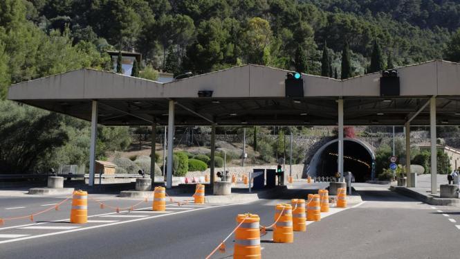 Rund 20 Jahre mussten Reisende für die Durchfahrt des Sóller-Tunnels Mautgebühren zahlen.