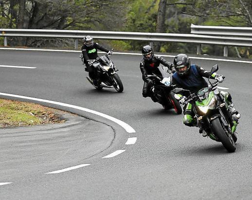 Die Straßen des Tramuntana-Gebirges sind vor allem bei Motorradfahrern beliebt..