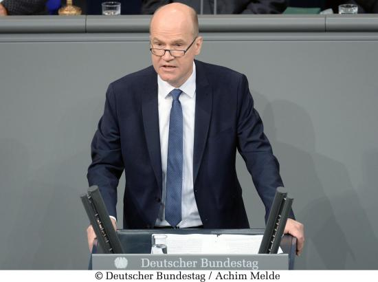 Ralph Brinkhaus, Fraktionsvorsitzender der CDU/CSU, im Bundestag.