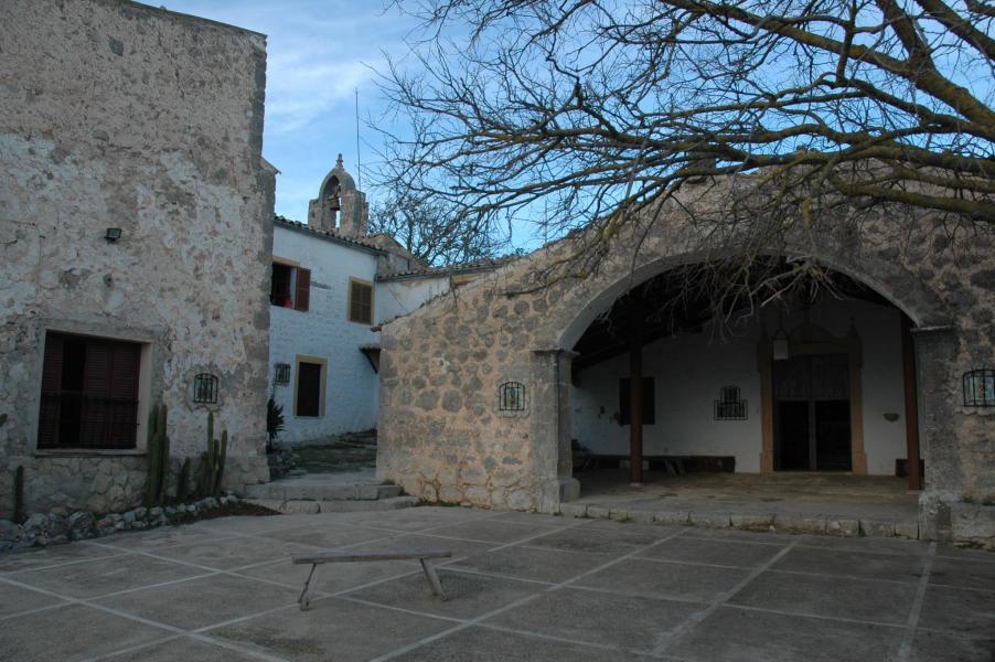 Kloster in der Burg Alaró