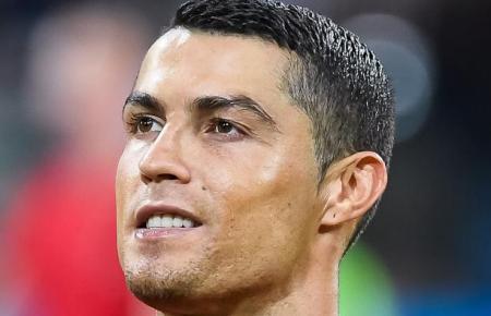 Star-Fußballer Cristiano Ronaldo.