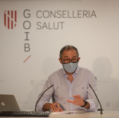 Der balearische Corona-Experte Javier Arranz.