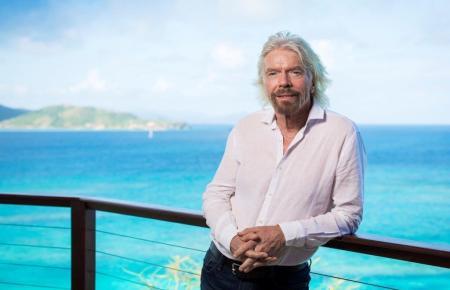 Der Multiunternehmer Richard Branson.