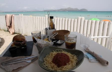 Das Restaurant Can Gavella.