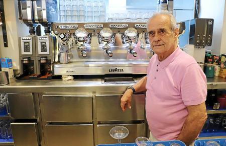 Der Gastgeber: Juan José Calzada ist Geschäftsführer der Bar Bosch.