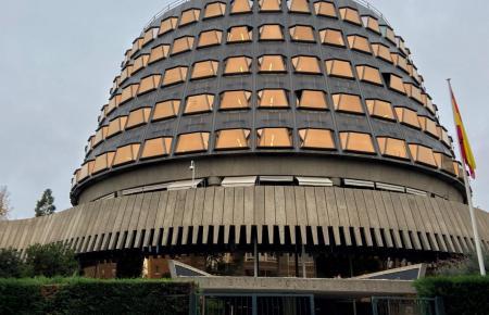 Blick auf das spanische Verfassungsgericht in Madrid.