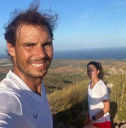 Der Tennisstar genießt die Auszeit auf seiner Insel. (Foto: Instagram)