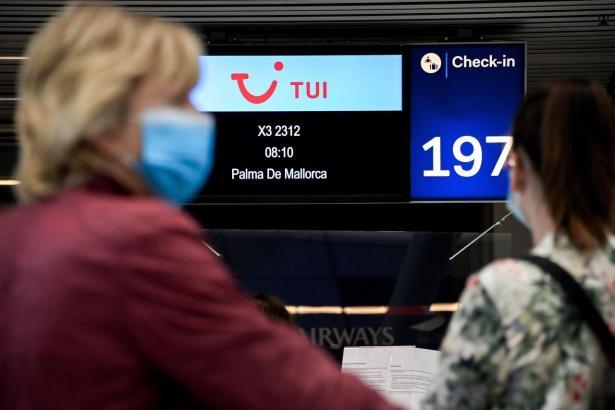 Der deutsche Reiseveranstalter Tui verliert an Börsenwert.