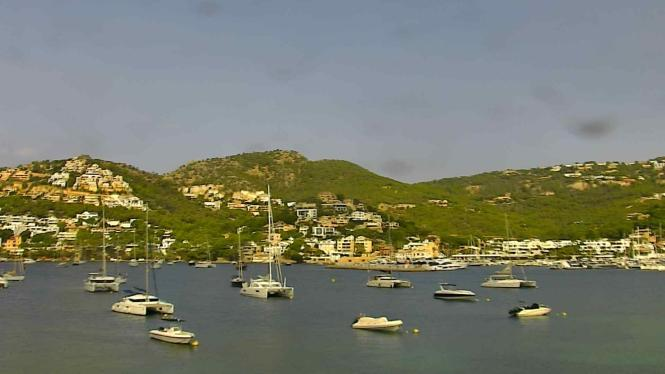 Blick in die Bucht von Port d'Andratx.