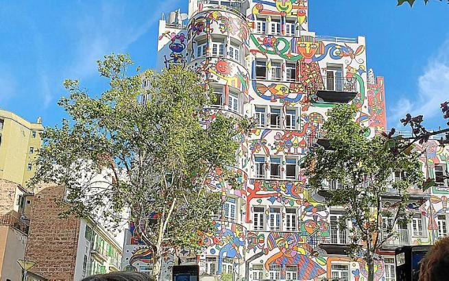 Seit Wochen gibt es Streit um die Fassade des Hotels in Son Armadams.