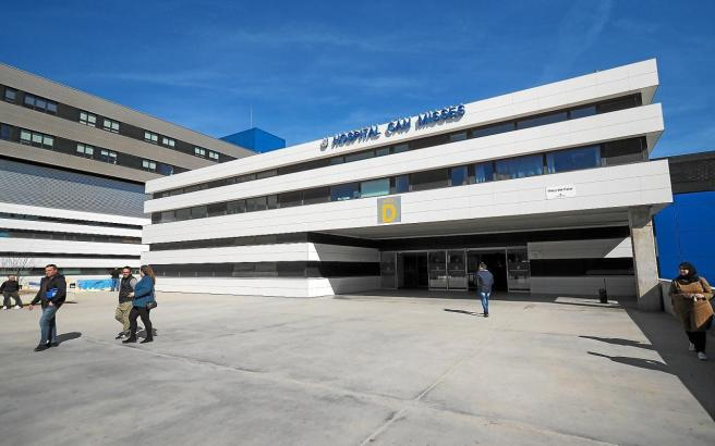 Das Krankenhaus Can Misses auf Ibiza.