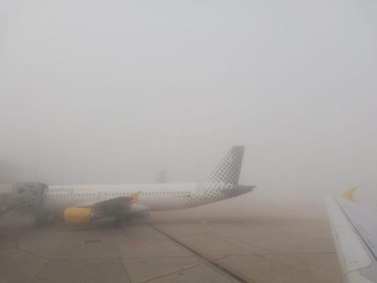 Das Flugzeug war auf dem Weg nach Santander.