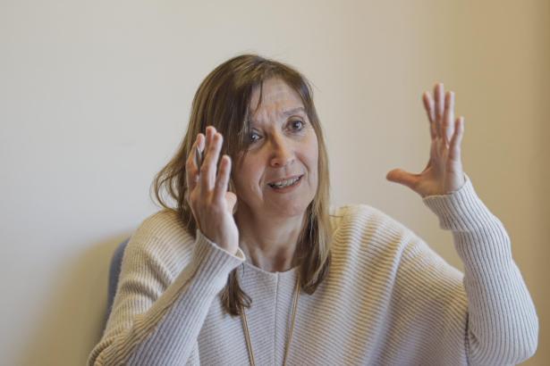 Maria Antonia Font it Chefin des öffentlichen Gesundheitswesens der Balearen.