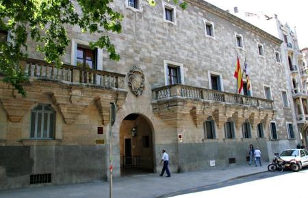 "Das ""Tribunal Superior de Justicia"" in Palma."