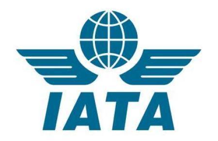 Das Logo des Airline-Dachverbandes Iata.
