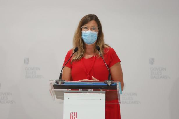 Die balearische Gesundheitsministerin Patricia Gómez.