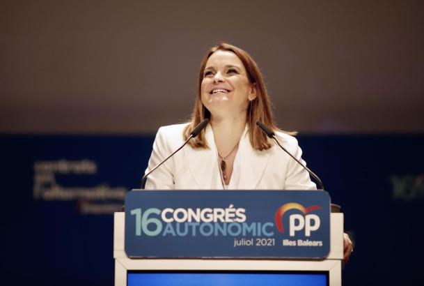 Marga Prohens ist die neue Spitzenfrau der Balearen-Konservativen.