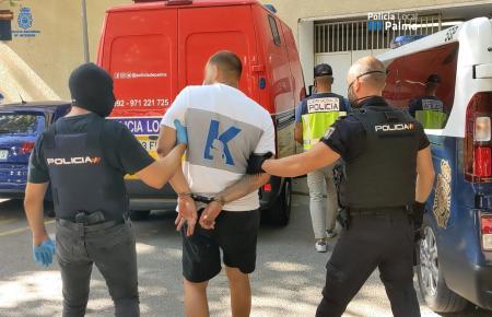 Dieser Taschendieb wurde vor einigen Wochen festgenommen.