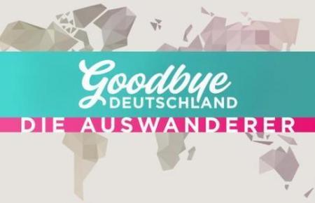 """Das Logo des TV-Formats """"Goodbye Deutschland""""."""