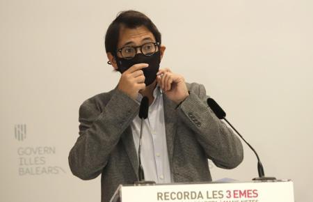 Regierungssprecher und Tourismusminister Negueruela.