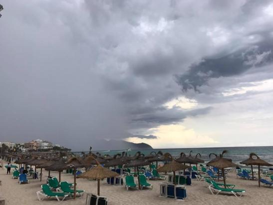 Gewitter könnten vom späten Samstagnachmittag an über Mallorca hinweg ziehen