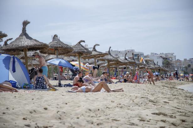 An der Playa de Palma kam es zu einem Überfall auf ein Paar