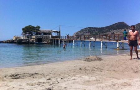 Der Strand von Camp de Mar.