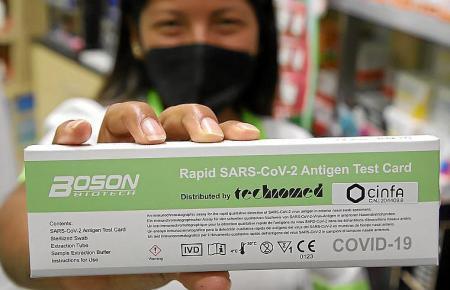 Antigentests können seit dem 21. Juli ohne Rezept in Apotheken gekauft werden.