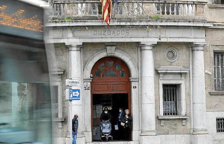 Das Gerichtsgebäude in Palma de Mallorca.