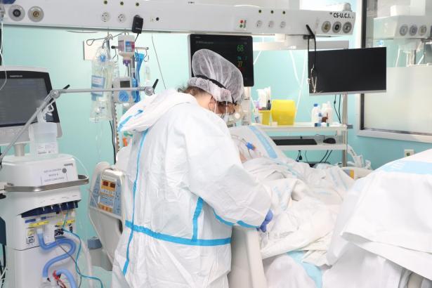 Die Intensivstationen auf den Balearen sind zu 27 Prozent ausgelastet.