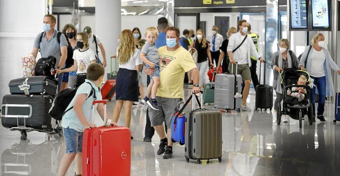 Am Flughafen Son Sant Joan in Palma herrscht reger Betrieb.