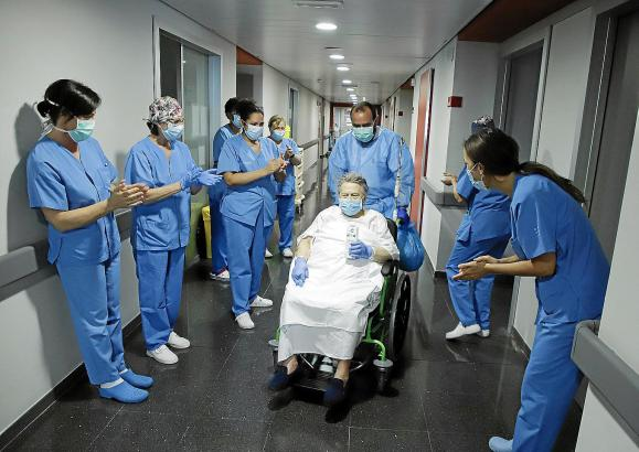 Personal des Krankenhauses Son Espases