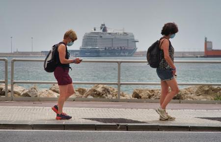 Es kommen wieder Kreeuzfahrtschiffe nach Mallorca. Im Vergleich mit 2019 sind es aber noch relativ wenige.